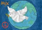 Moving-art - ONG France Partage - UNESCO - Dessins pour la Paix - Peace Drawings -  Scoala Gimnaziala Nr 1 - Romania